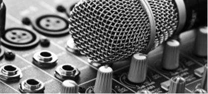 Sound desk Ministry