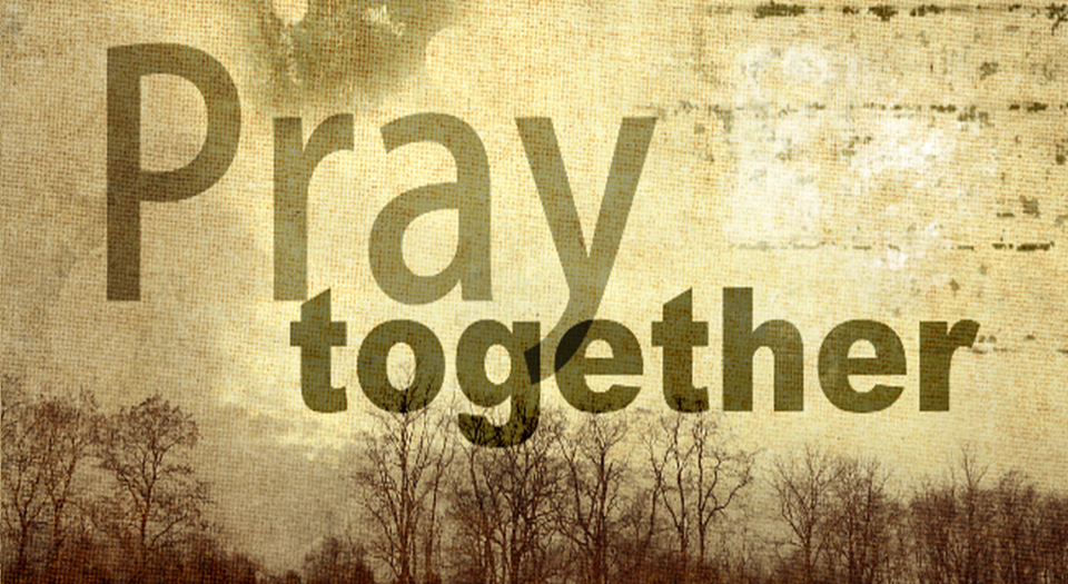 image of Pray together